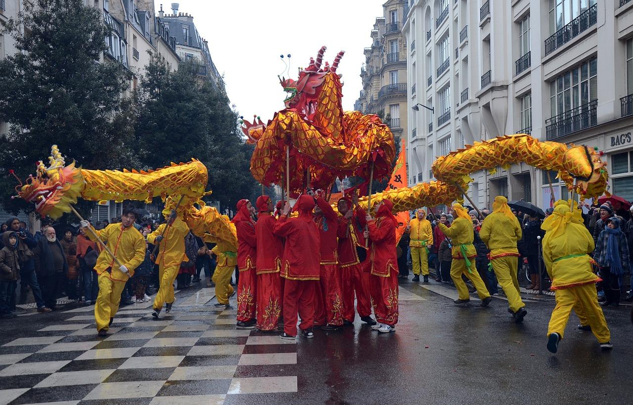 Le Nouvel An chinois, haut en couleurs!