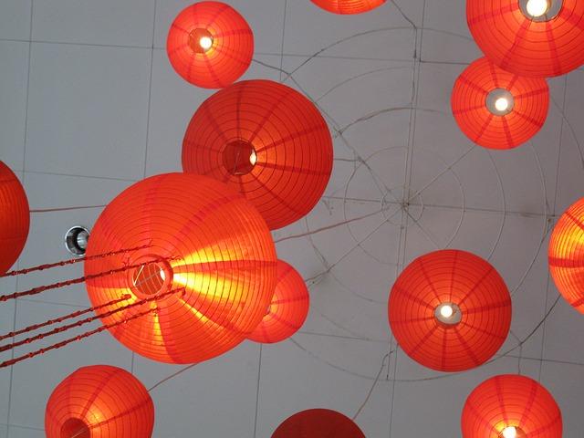 La célèbre Fête des lanternes.